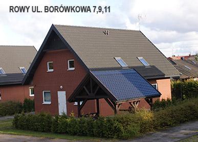 Borówkowa 7 9 11 Rowy Domek Letniskowy